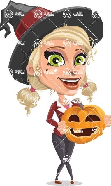 Ophelia the Biz Witch - Pumpkin