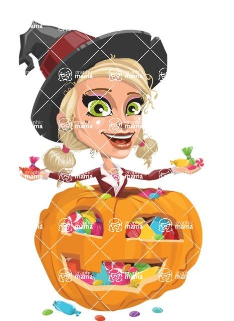Ophelia the Biz Witch - Pumpkin 4