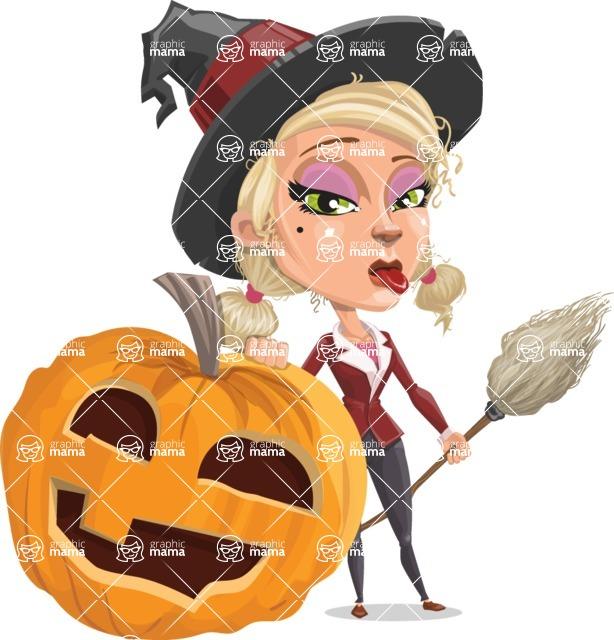 Ophelia the Biz Witch - Pumpkin 5