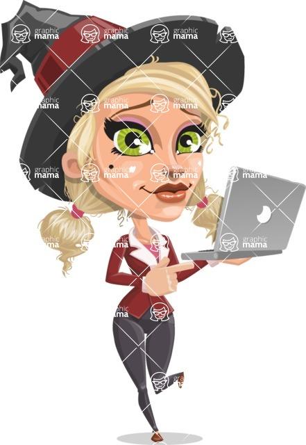 Ophelia the Biz Witch - Laptop