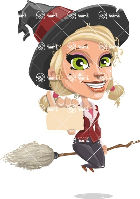Ophelia the Biz Witch - Sign 1