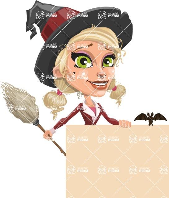 Ophelia the Biz Witch - Sign 7