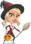 Ophelia the Biz Witch - Pumpkin 2