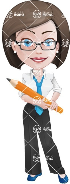 Ann the Biz Phenomenon - Pencil