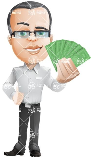 Dominic White-Collar - Show me the money