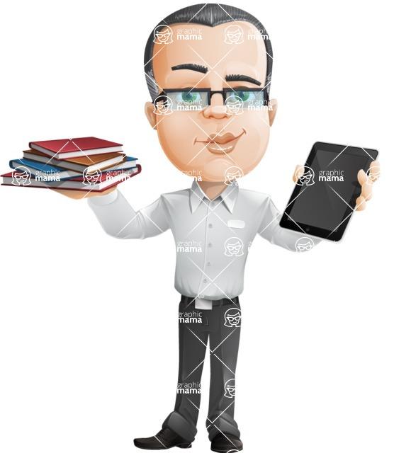 Dominic White-Collar - Book and iPad