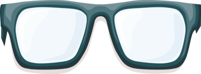 Business Vector Cartoon Graphic Maker - Glasses 2