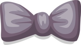 Business Vector Cartoon Graphic Maker - Bow Tie 1