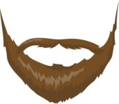Business Vector Cartoon Graphic Maker - Beard Style 2