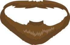 Business Vector Cartoon Graphic Maker - Beard Style 3