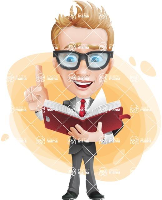 Dan as Mr. Determined - Shape9