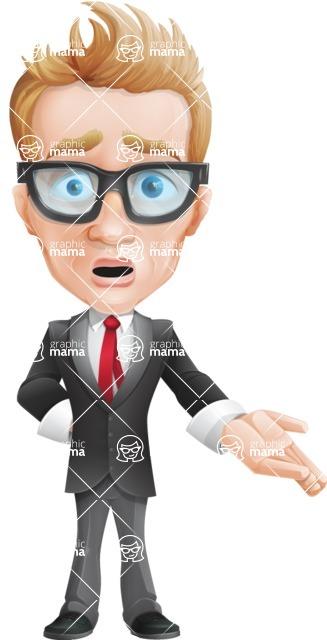 Dan as Mr. Determined - Stunned
