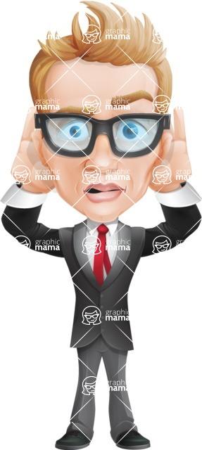Dan as Mr. Determined - Confused