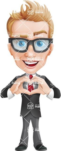 Dan as Mr. Determined - Show Love