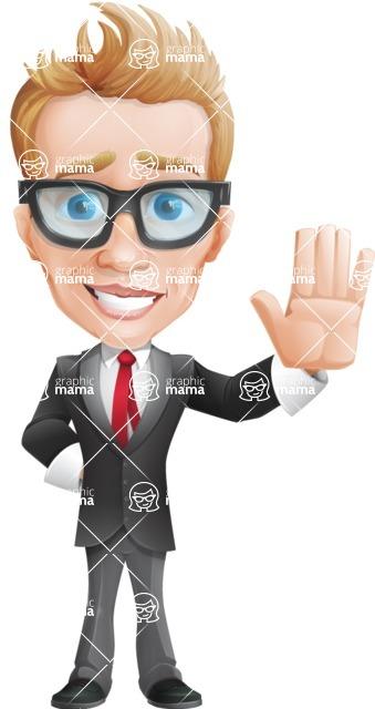 Dan as Mr. Determined - Wave
