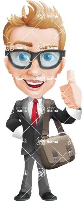 Dan as Mr. Determined - Travel2