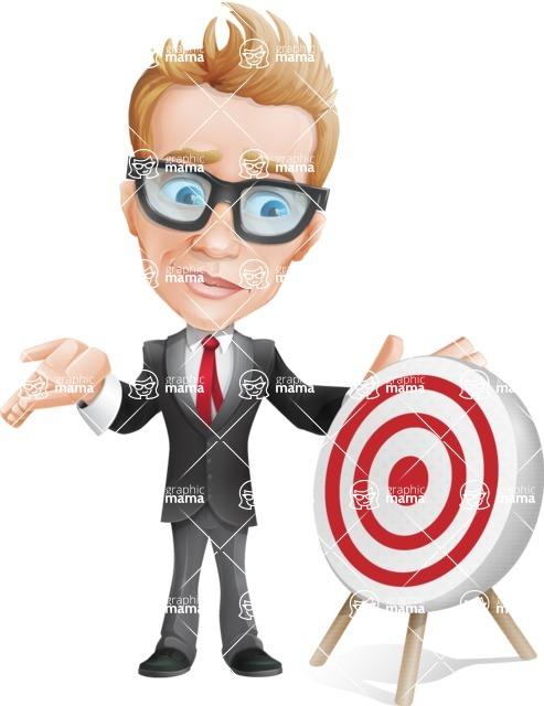 Dan as Mr. Determined - Target
