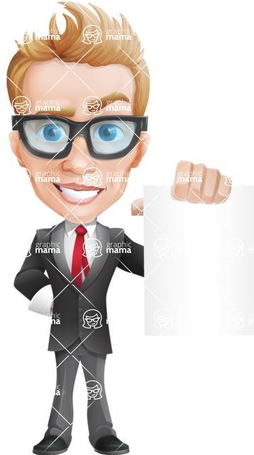 Dan as Mr. Determined - Sign4