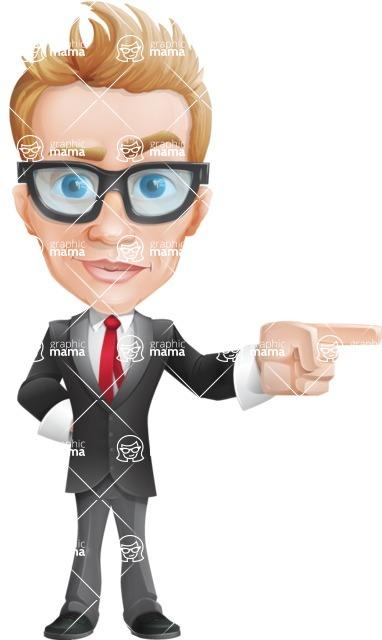 Dan as Mr. Determined - Point