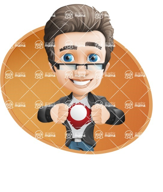 Handsome man vector character - Nick Smartman - Shape4