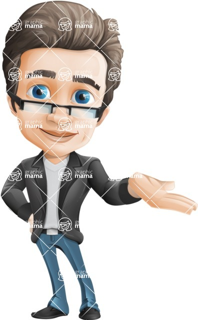 Handsome man vector character - Nick Smartman - Showcase