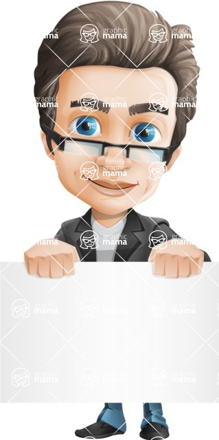 Handsome man vector character - Nick Smartman - Sign2