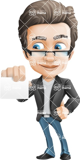Handsome man vector character - Nick Smartman - Sign6