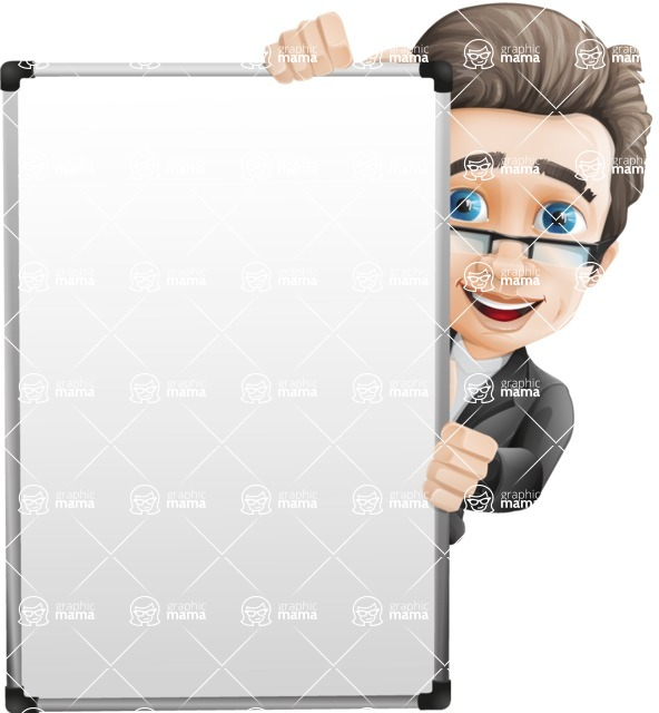 Handsome man vector character - Nick Smartman - Presentation6