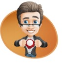 Handsome man vector character - one of GraphicMama best sellers - Shape4