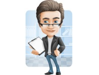 Handsome man vector character - Nick Smartman - Shape6