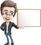 Handsome man vector character - one of GraphicMama best sellers - Presentation1