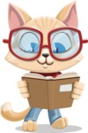 Kitten Cartoon Vector Character AKA Mew Catsby - Book 1