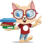 Kitten Cartoon Vector Character AKA Mew Catsby - Book 2