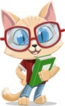 Kitten Cartoon Vector Character AKA Mew Catsby - Book 3
