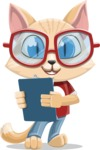 Kitten Cartoon Vector Character AKA Mew Catsby - Notepad 2