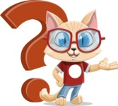 Kitten Cartoon Vector Character AKA Mew Catsby - Question