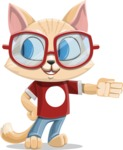 Kitten Cartoon Vector Character AKA Mew Catsby - Show