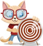 Kitten Cartoon Vector Character AKA Mew Catsby - Target