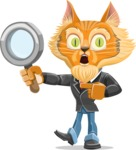 Wild Cat Businessman Cartoon Vector Character AKA Mr. Furrington - Search