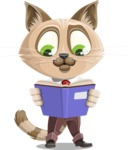 Business Cat Cartoon Vector Character AKA Tom Catson - Book 1
