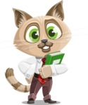 Business Cat Cartoon Vector Character AKA Tom Catson - Book 3