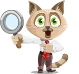 Business Cat Cartoon Vector Character AKA Tom Catson - Search