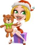 Clausette Jingle - Bear Gift