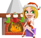 Clausette Jingle - Fireplace