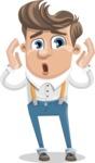 Spencer Suspenders - Shocked