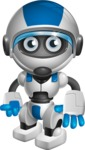 robot vector cartoon character design by GraphicMama - Normal