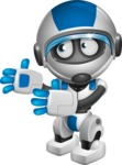 robot vector cartoon character design by GraphicMama - Welcome