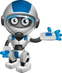 robot vector cartoon character design by GraphicMama - Showcase