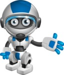 robot vector cartoon character design by GraphicMama - Show