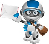 robot vector cartoon character design by GraphicMama - Delivery 3